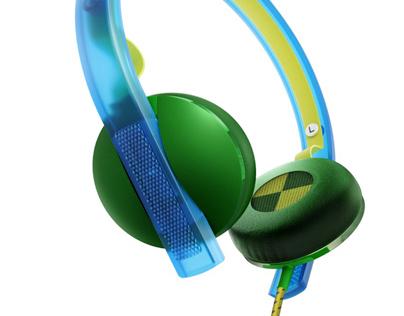 Philips   O'Neill Bend Headphones
