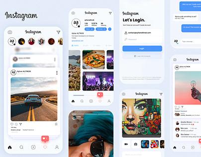Instagram UI/UX Redesign