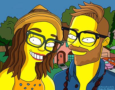 Couple Simpsons