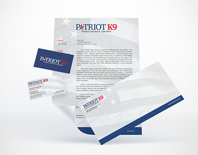 PATRIOT K9 | BRAND COLLATERAL