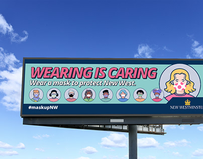 City of New Westminster - Wearing Is Caring Campaign