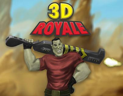 3D Royal - Game Cover Art/ Logo Design