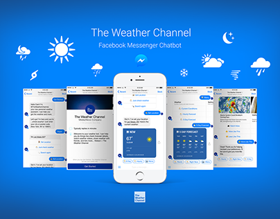The Weather Channel Facebook Messenger ChatBot
