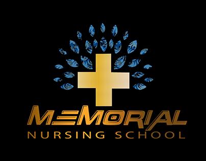 minimalist logo for nursing school