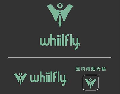 Whiilfly logo design 匯飛傳動光輪logo設計