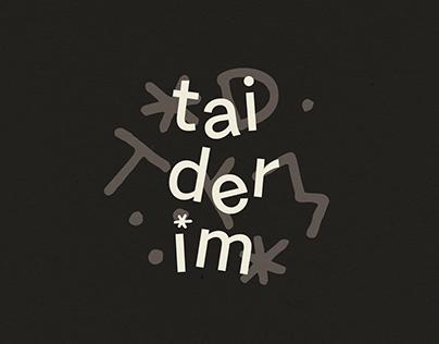identidade visual : taiderim