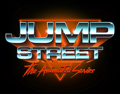 22 Jump Street - Logo design