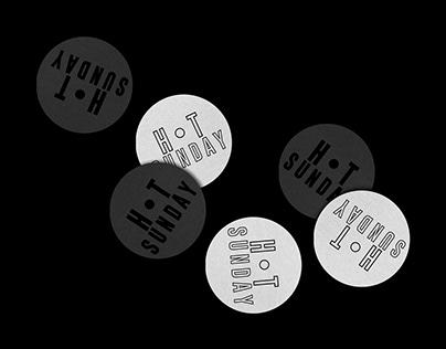 Hot Sunday Records - Brand Identity