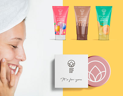 Design of packaging for natural cosmetics