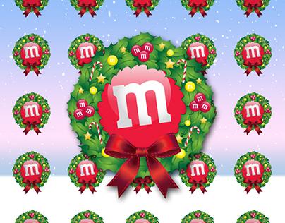 M&M's World - Christmas Greeting