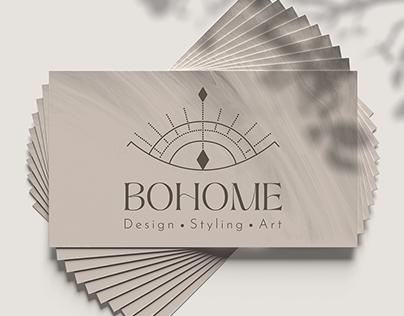 Bohome - Logo Design