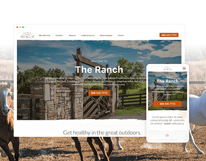 The Ranch Responsive Redesign