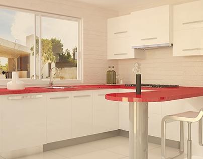 Render - Cocina 9.