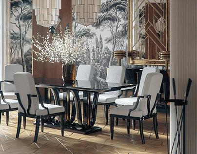 Art Deco- Dining Room