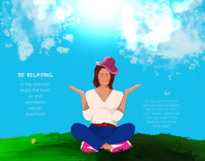 Be relaxing ( new draw )