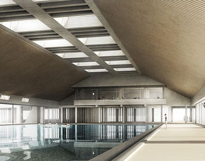 Swimmingpool in Ostend