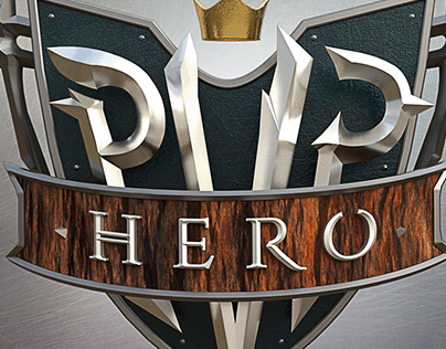 PVP Hero - Game Logo