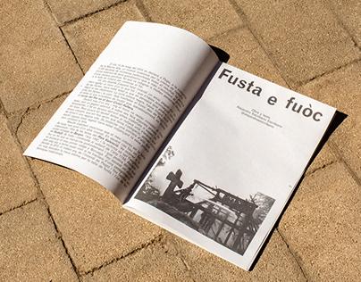Fusta e fuòc | Editorial
