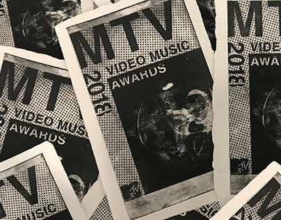 MTV VMA 2018 waterless lithography tickets