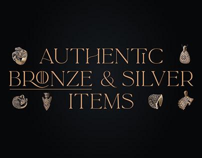 Pakabone jewelry store | Website