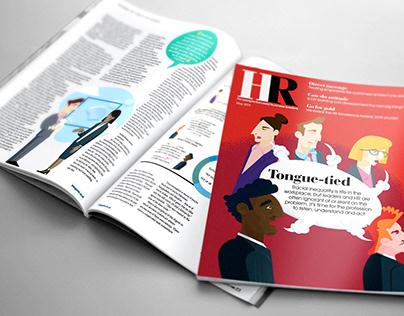 HR Magazine illustrations