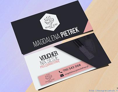 Voucher and Business Card Design