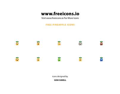 Free Pineapple icons