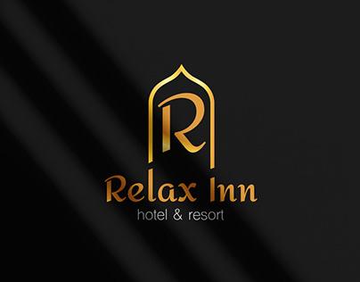 Relax INN hotel & resort | logo branding