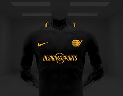 03bbabeccbc2 Nike Vapor Football Kit Mockup PSD Smart Download