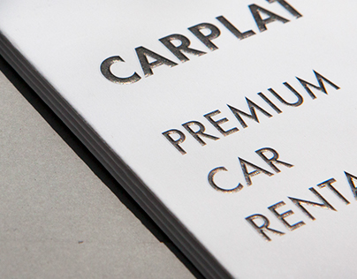 Graphic Design for CARPLAT | Brochure