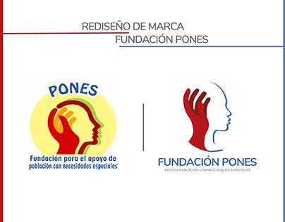 Fundación Pones - Manual de marca
