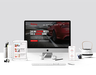 UI/UX and Web design - Vehicle registration