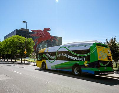 DART Proterra Electric Bus 2020