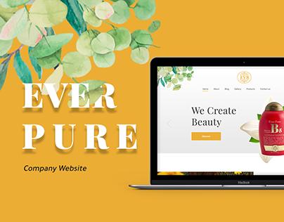 Ever Pure - Website