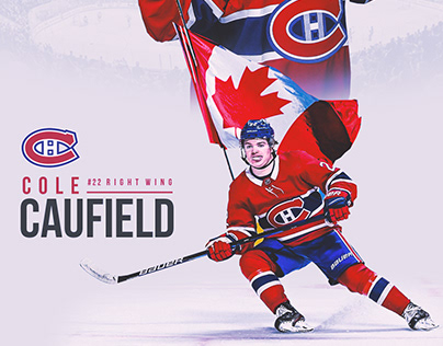 Cole Caufield Canadiens Poster