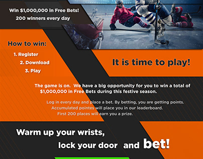 Sports Bets Landing Page