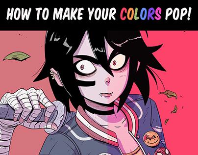Color tutorial - Maodraws