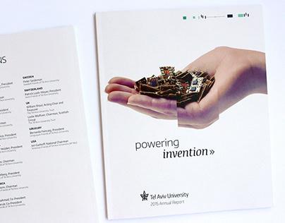 TAU 2015 Annual Report | Art direction, design