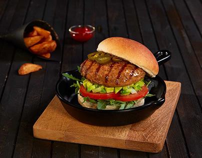 Fotografía gastronómica - RARE hamburguesas premium