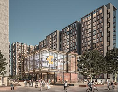 VIS LOTE UNIGAS - Architectural Design