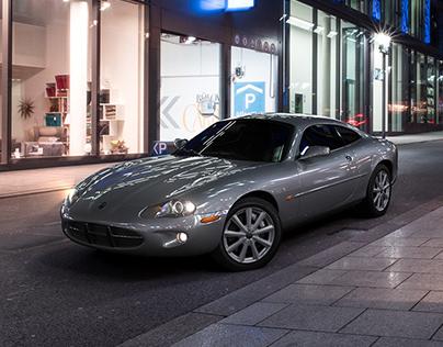 Jaguar XK8 Modeling & Composite Imaging