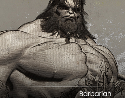 BARBARIAN - TESTING render NPR with ZBRUSH 2019