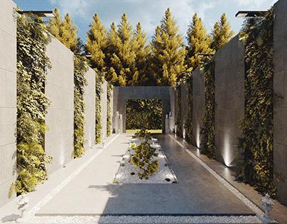 Relaxing Area - CGI