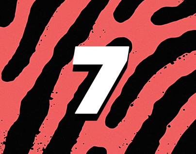 DON'T TAKE FAKE 7 Festival Branding & Identity