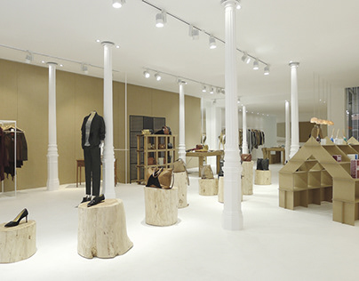 STORE FURNISHING. 'Dadá Concept' store