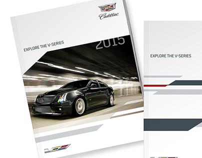 Cadillac V-Series Racing visual identity
