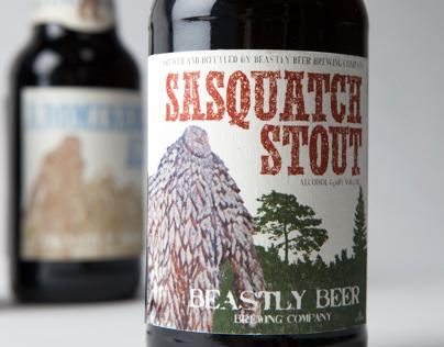 Packaging - Beastly Beer