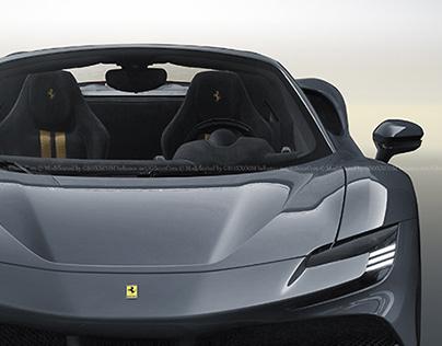 2020 Ferrari SF90 Stradale Spider Stealth
