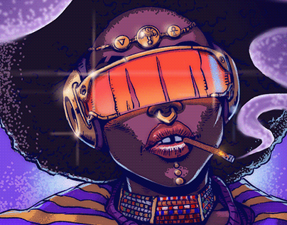 Afrofuturistic Characters
