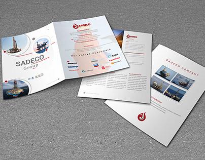 Sadeco Company/ Brochure Design